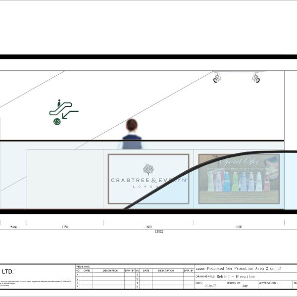 Back side layout